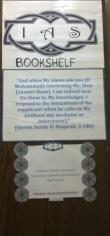 The IAS Bookshelf @ 90 Clifton